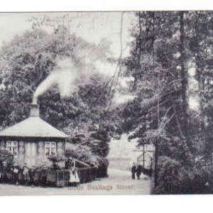 Post Card of gatehouse to Manor House 1900s - now Church Lodge