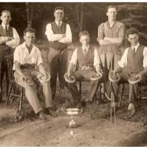 Beallings Quoits Clubs 1920 30