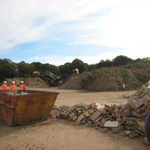 Photo 15 - looking towards South East side of site operations, Crusher in background