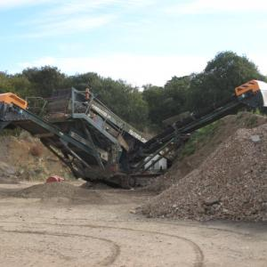 Photo 17 - Crusher showing crushed material (2)